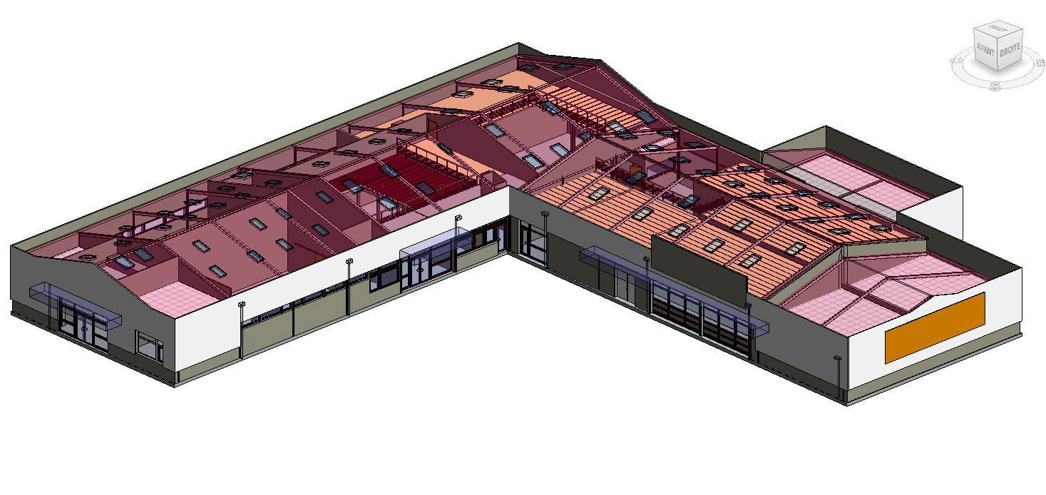 Projet Établissement LABAT - SCANNER 3D ET MAQUETTE NUMÉRIQUE BIM